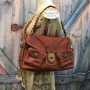 COACH Legacy Leather Leigh Shoulder Bag 11128 EUC!